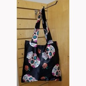 Sheda s Fashion Bags - Sugar Skull   Roses Day of the Dead ... f4633188869e7